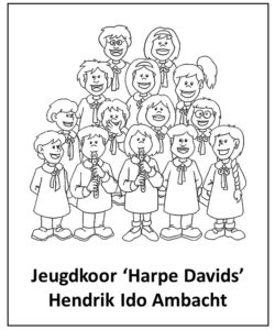 LOGO jeugdkoor Harpe Davids